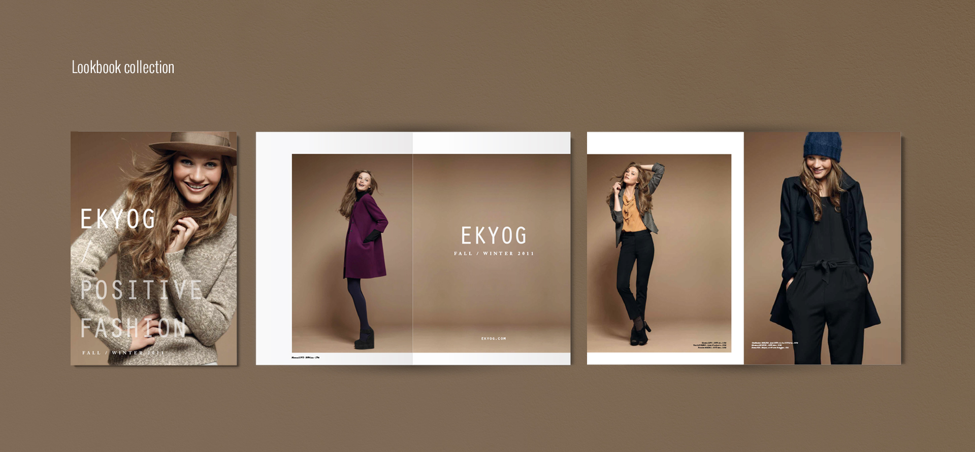 lookbook Eekyog collection hiver by DGGD