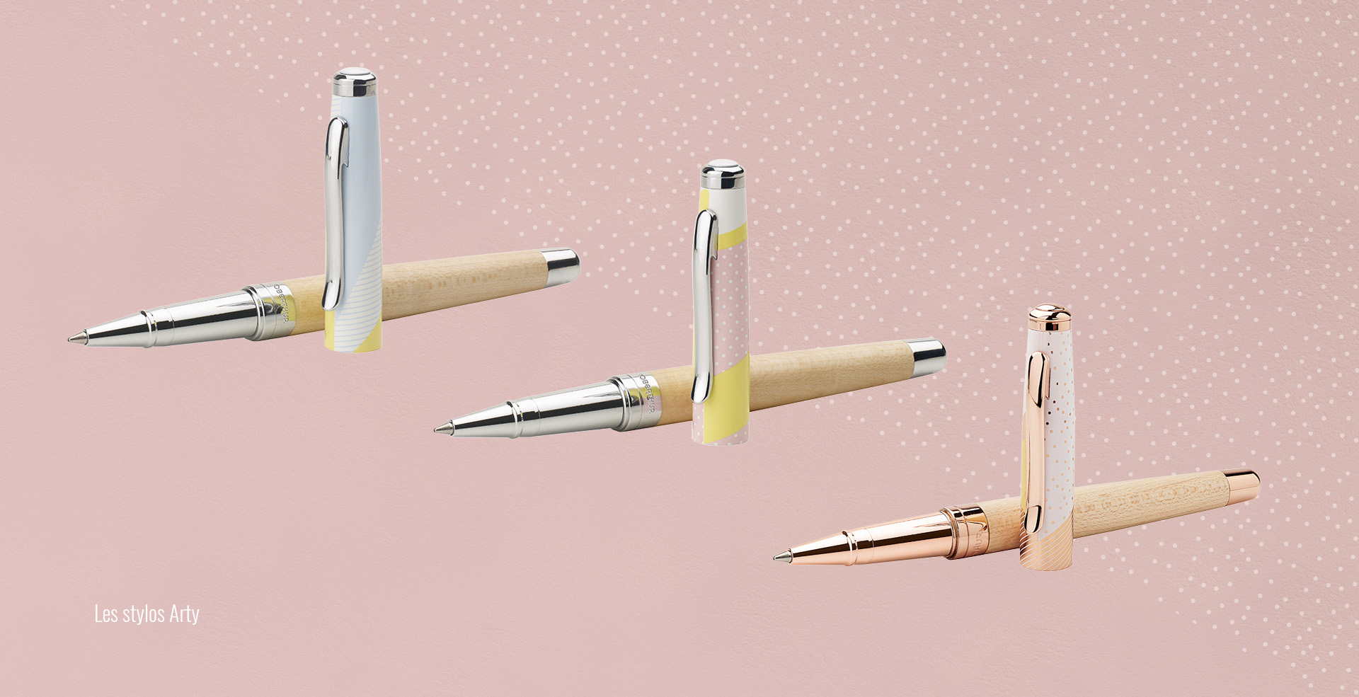 design de motifs stylos Oberthur