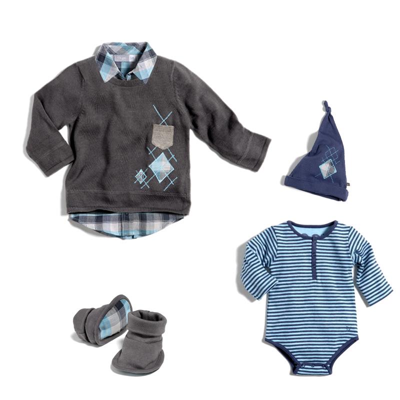 Ekyog produits bébé : body, pull, bonnet by DGGD