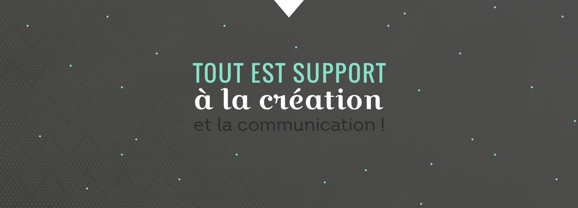 support de création dggd